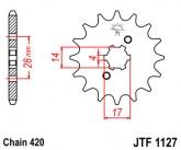 Zębatka napędowa przednia JTF1127.12 - 12 zębów