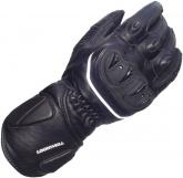 Rękawice motocyklowe skórzane LOOKWELL ULTRA-R SPS czarne