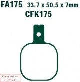 Klocki hamulcowe EBC EPFA175HH Extreme Pro (kpl. na 1 tarcze)