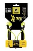 AUVRAY kłódka  XTREM MINI z przypominaczem - średnica bolca 16mm, 116mm x 119mm  (klasa S.R.A.)