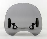 Uniwersalna szyba do motocykli bez owiewek MRA, forma ROC, czarna