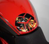 PRINT tankpad IROBOT Ducati diavel