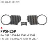 PRINT Naklejka na półkę kierownicy CBR 1000 2004/2007