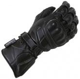 Rękawice motocyklowe skórzane LOOKWELL SPEEDY czarne