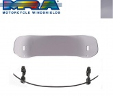 Szyba motocyklowa MRA UNIVERSAL VTA-TYP 3    34/26 CM, , -, forma VTA, przyciemniana