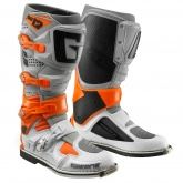 Buty motocyklowe GAERNE SG-12 pomarańczowe/szare/białe rozm. 47