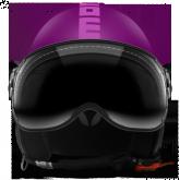 Kask Motocyklowy MOMO FGTR CLASSIC Fioletowy Mat / Różowy