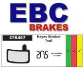 Klocki rowerowe EBC (spiekane) Hayes Stroker Trail CFA467HH