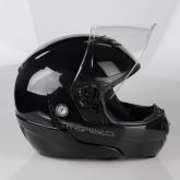 Kask motocyklowy LAZER MONACO EVO Pure Glass czarny metalik