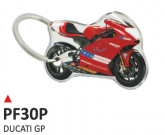 PRINT double face dome key-holder ducati gp