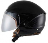 Kask motocyklowy KYT COUGAR czarny