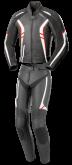 Kombinezon motocyklowy BUSE Jerez czarno-biało-czerwony