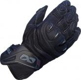 Rękawice motocyklowe skórzane LOOKWELL RUSH GP czarne