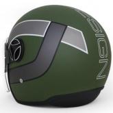 Kask Motocyklowy MOMO ARROW Military Green Frost / White Outline