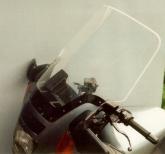 Szyba motocyklowa MRA KAWASAKI GTR 1000, ZGT00A, -, forma AR, przyciemniana