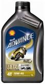 Olej silnikowy SHELL 4T ULTRA 10W40 1L (550044447)