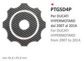 PRINT naklejka na wlew paliwa Hypermotard 2007/2014