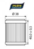 Filtr Oleju ISON 141