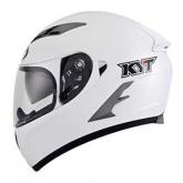 Kask motocyklowy KYT FALCON biały