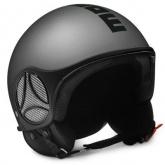 Kask Motocyklowy MOMO MINIMOMO Aluminium Frost / Czarny