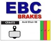 Klocki rowerowe EBC (organiczne wyczynowe) Avid Elixir CFA472R