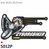 Naklejka PRINT Cyborgbiker (2 szt.)