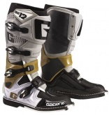 Buty motocyklowe GAERNE SG-12 szare/platynowe/białe rozm. 46