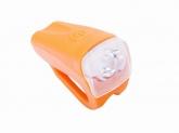 Lampa przednia 1-LED ROMET JY-378FC pomarańczowa