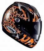 Kask motocyklowy LAZER SIROCCO Celtic czarny/pomarańczowy
