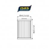Filtr Oleju ISON 655 (HF655)