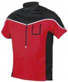 Koszulka rowerowa męska Etape Polo czerwona