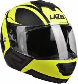 Kask motocyklowy LAZER LUGANO Z-Generation czarny/żółty/fluo