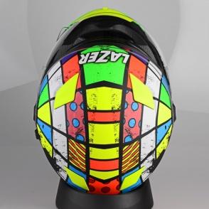 Kask motocyklowy LAZER BAYAMO Dynamite czarny/multi/matowy