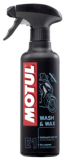 MOTUL E1 WASH & WAX 0.400L - Additives, MSP, Coolants (ready to use) (102996)
