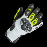 Rękawice motocyklowe BUSE Airway czarno-neonowe 09