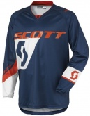 Bluza Scott 350 Dirt Kids blue/orange - juniorska