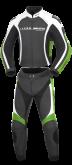 Kombinezon motocyklowy BUSE Donington czarno-zielony