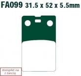 Klocki hamulcowe EBC SFA099 skuterowe (kpl. na 1 tarcze)