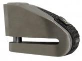 MICHELIN blokada na tarczę z alarmem stal nierdzewna / czarna, średnica bolca 10mm (klasa S.R.A.)