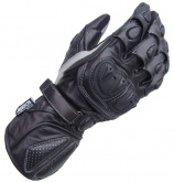 Rękawice motocyklowe skórzane LOOKWELL SNIPER SPS czarne