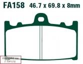Klocki hamulcowe EBC EPFA158HH Extreme Pro (kpl. na 1 tarcze)