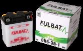 Akumulator FULBAT 6N6-3B-1 (suchy, obsługowy, kwas w zestawie)