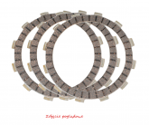 ProX Tarcza Cierna CRF450R 02-16 + TRX450R 04-14