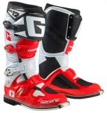 Buty motocyklowe GAERNE SG-12 czerwone/białe rozm. 48