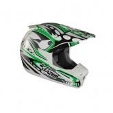 Kask motocyklowy LAZER SMX Bionic biały/zielony