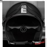 Kask Motocyklowy MOMO FGTR EVO Czarny Mat / Biały