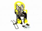 Fotelik dla dziecka BELLELLI TIGER RELAX regulowany czar/żółty