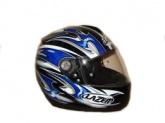 Kask motocyklowy LAZER VERTIGO Replica czarny/niebieski