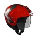 Kask motocyklowy LAZER BE-BOP Talas czerwony