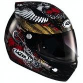Kask motocyklowy LAZER OSPREY Legend czarny/brązowy